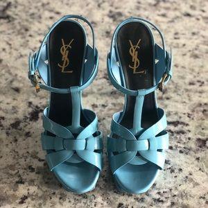Saint Laurent Tribute Patent Leather Heels